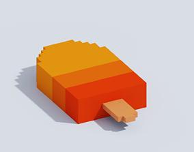 VOXEL ICE CREAM T1 3D model