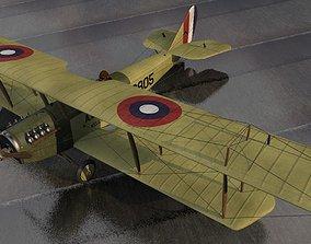 Curtiss JN-4D Jenny american 3D