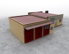 LKKV Fire Station 3D model