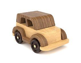 Wooden toy car 33 3D