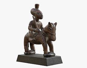 Figurine Horseman 3D model