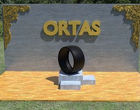 3D model ORTAS TIRE NO 23 GAME READY