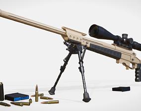 3D asset Sniper rifle ORSIS T-5000