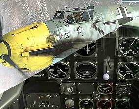 Bf109 E3 3D model rigged