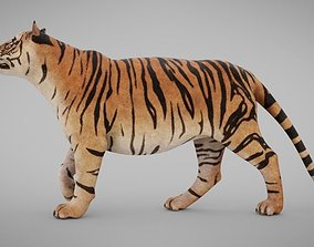 3D model VR / AR ready Tiger