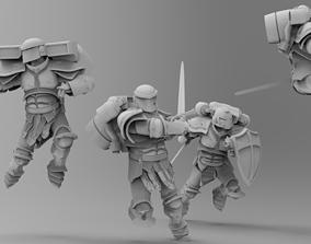 Knights of Roma - Rapid Assault Squad 3D print model