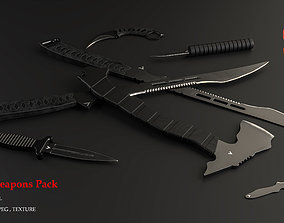 FANTASY WEAPONS PACK 3D