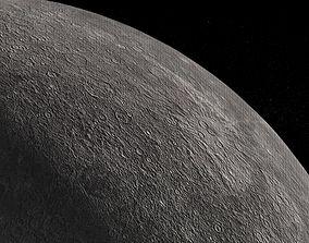 Mercury 3D model realtime