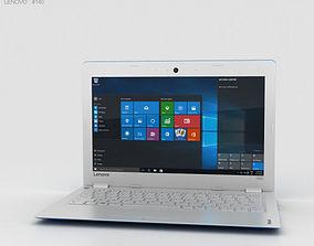 3D Lenovo Ideapad 100S Blue