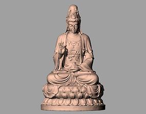 Chinese Sculpture Model Guanyin bodhisattva Kwan-yin 091