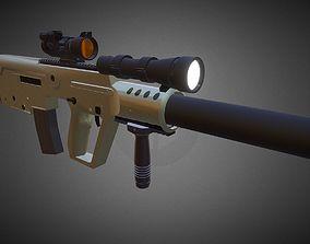 X95 Assault rifle 3D model