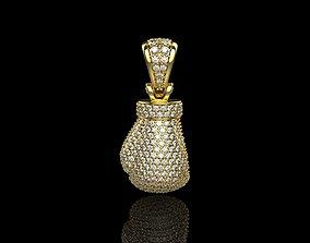 3D printable model Diamond Boxing Glove N2