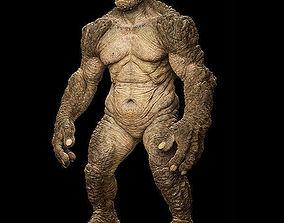 3d mud monster