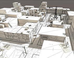 3D model Arabic City