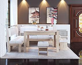 3D Kitchen Area