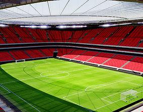 San Mames Stadium - Bilbao Spain 3D model