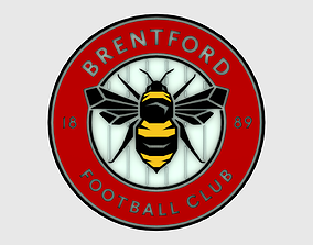 Brentford Logo 3D model