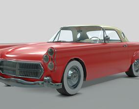 3D asset 1950s generic car