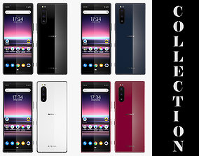 Sony Xperia 5 All Colors 3D model
