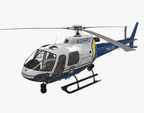 AS-350 Philadelphia Police 3D asset