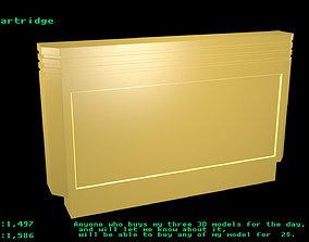 Dendy cartridge 3D model