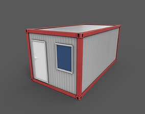 Office Container 01 3D asset