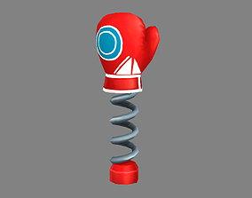 3D model Cartoon spring gloves - Trick toy