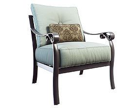 Bellanova Cushioned Lounge Chair 3D model