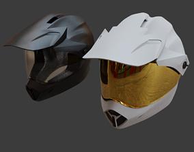 Motorcycle Helmet Bell MX9 3D model