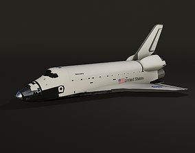Space Shuttle Discovery 3D model realtime