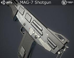 3D model Mag-7 Shotgun