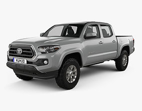 3D Toyota Tacoma Double Cab Short Bed SR5 2014