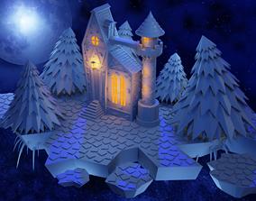 Night castle 3D
