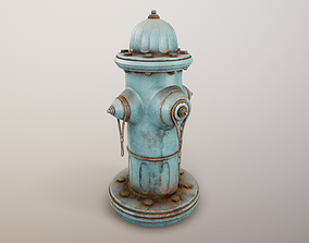 3D asset Fire Hydrant PBR Game Ready