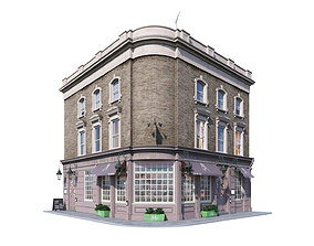 3D model Building at old church st 35 London