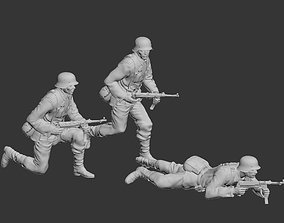 3D print model German soldier schmeiser