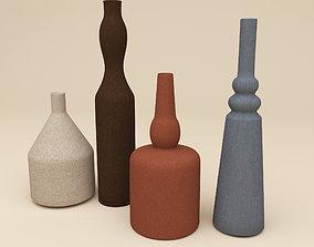 Decorative vases 2 3D