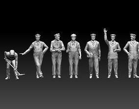 railroad staff 3D printable model