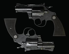 3D model Colt-Diamondback pistol