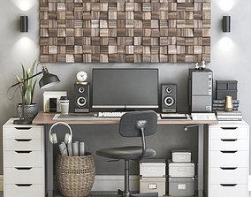 Office workplace 78 3D model