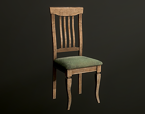 3D model Old dirty Chair