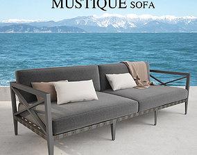 3D model Restoration Hardware Mustique Sofa