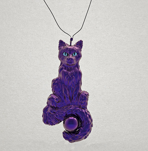 Magic cat pendant