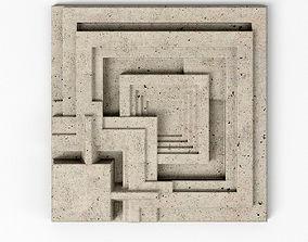 3D model Ennis House Tile - Frank Llyod Wright