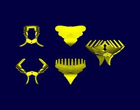 Clip 3D printable model out