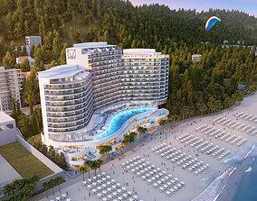 3D model Hotel 018