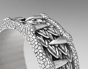 Dragon ring sla 3D print model