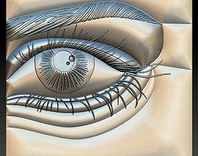 3D print model No 16 Eye