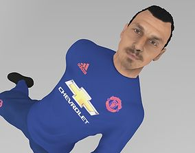 3D printable model Zlatan Ibrahimovic full figurine