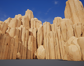 Stones and Rocks pack - game models 3D asset